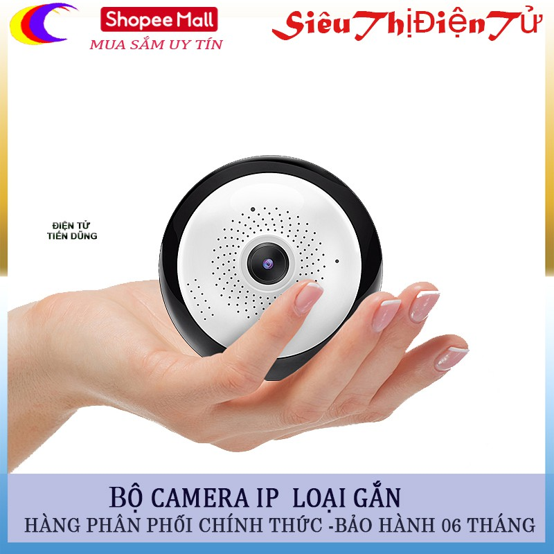 Camera IP giám sát thông minh trong nhà