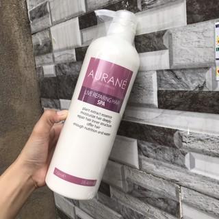 Dầu ngâm tóc Aurane Live Reparing Hair Spa phục hồi làm mượt tóc thumbnail