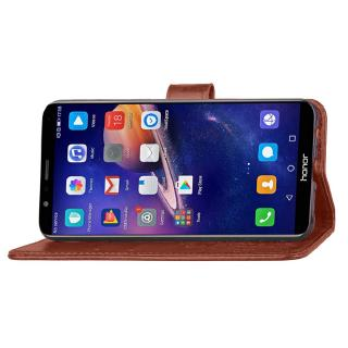 Retro Leather Cover For Huawei honor 7x Honor 7X 3D Flower