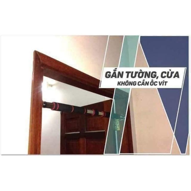 Xà đơn treo tường gắn cửa độ dài 80-130cm