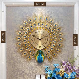 [ẢNH THẬT ] Đồng hồ chim công hình tròn – đồng hồ chim công đẹp
