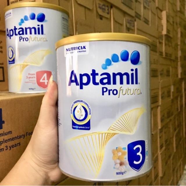 (Đủ số date xa) Sữa aptamil úc 900g