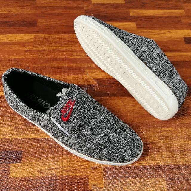 ⚡[CHỈ 1 NGÀY] Giày Lười Nike Vải Nam Mới Về ( Đã Khâu Đế )