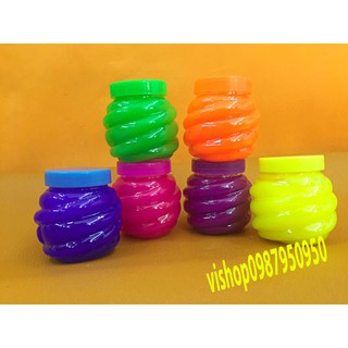 đồ chơi slime lọ hình dứa – chất nhờn lỏng mã DNM10 Hmah