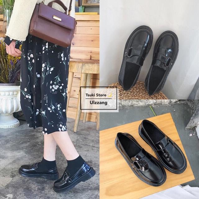 [ORDER] Giày da ulzzang ❣️