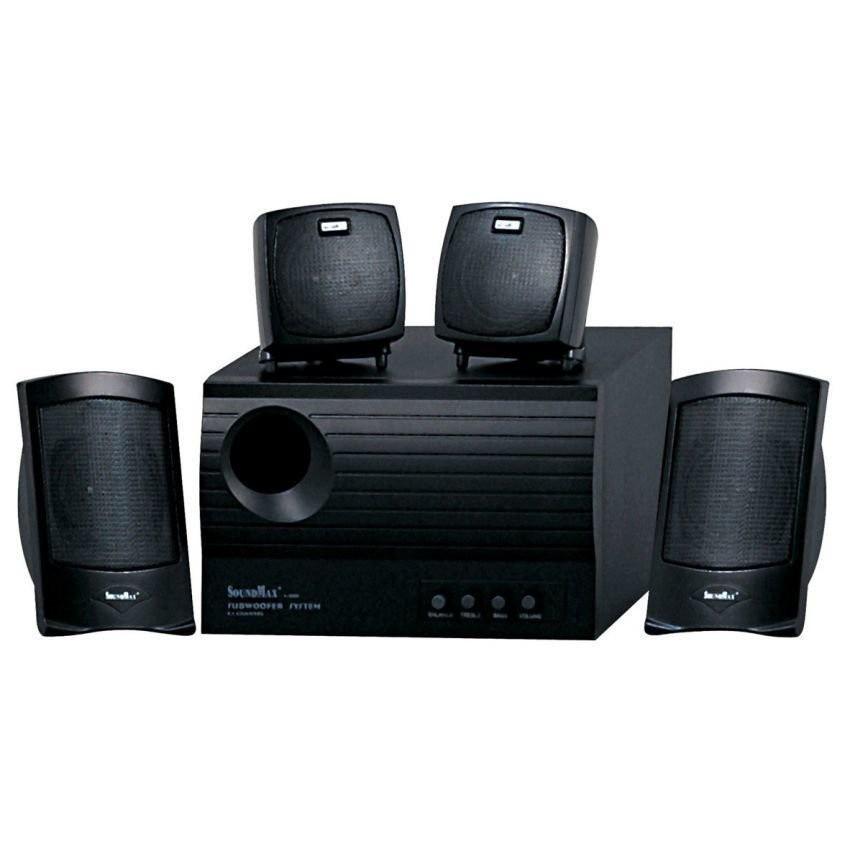 Loa máy tính SoundMax A-4000 (Đen)