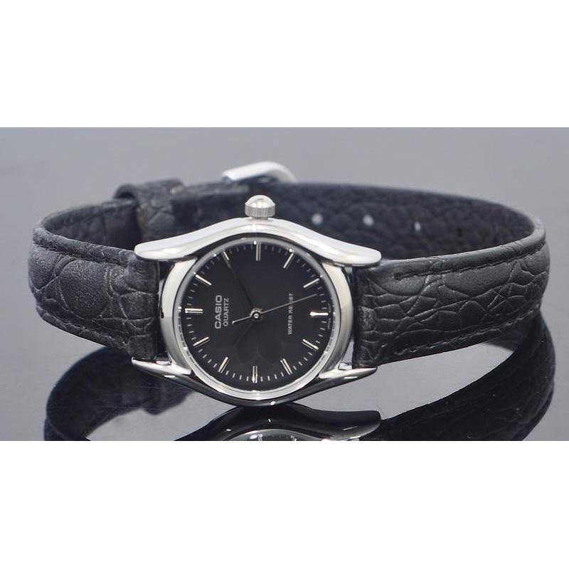 Đồng hồ nữ dây da Casio Standard Anh Khuê LTP-1094E-1ARDF chính hãng