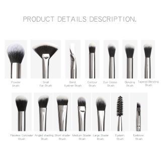 Hình ảnh MAANGE Bộ 13 Cọ Trang Điểm Sử Dụng Chuyên Nghiệp Make up Brush Set-7