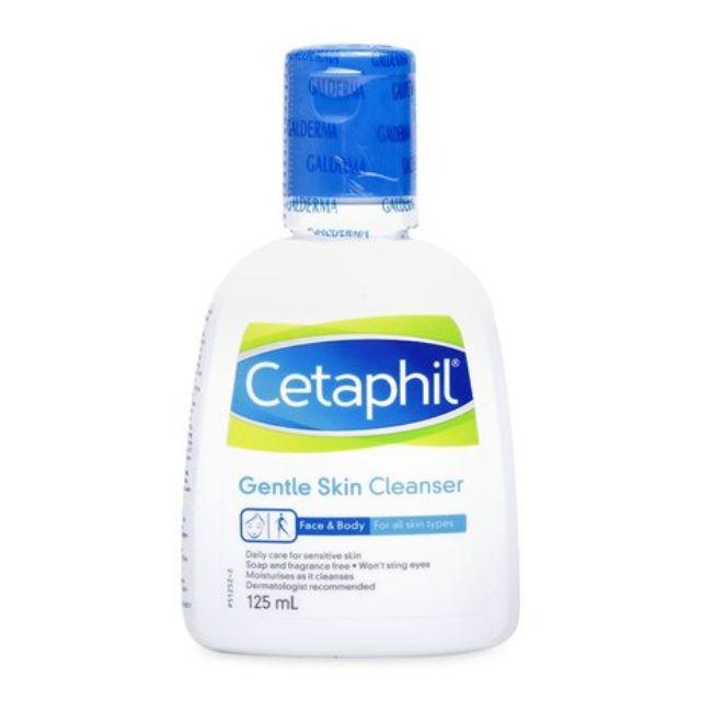 Sữa rửa mặt dịu nhẹ cho mọi loại da Cetaphil Gentle Skin Cleanser (125ml) - 14774881 , 1373516143 , 322_1373516143 , 115000 , Sua-rua-mat-diu-nhe-cho-moi-loai-da-Cetaphil-Gentle-Skin-Cleanser-125ml-322_1373516143 , shopee.vn , Sữa rửa mặt dịu nhẹ cho mọi loại da Cetaphil Gentle Skin Cleanser (125ml)