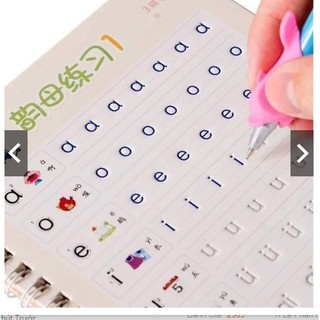 combo 10 bộ 3 món tập tô chữ số hình cho bé tặng 3 bút-9 ruột-3 đẹm cầm
