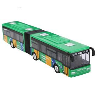Sunei1:64 18cm Baby pull back shuttle bus diecast model vehicle Kids Toy New