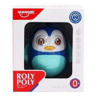 Đồ chơi lật đật chim cánh cụt xanh Huanger HE0201