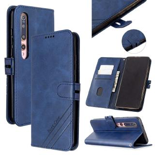 Bao Da Màu Trơn Có Ngăn Đựng Thẻ Tiện Dụng Cho Xiaomi Cc9pro Mi Note10 Pro 9lite Xiaomi 5x A1 6x A2 Cc9 Cc9e A3 10 Pro