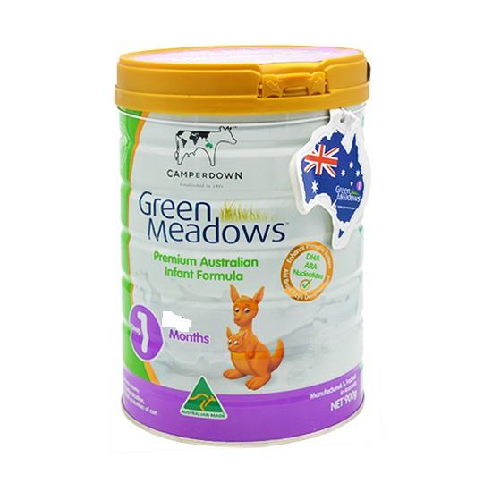 Sữa Green Meadows số 1 900g Date T8.2018