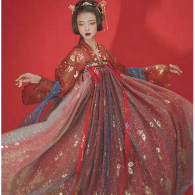 [ĐANG SALE] Hán phục cổ trang Trung Quốc Loan Tinh.