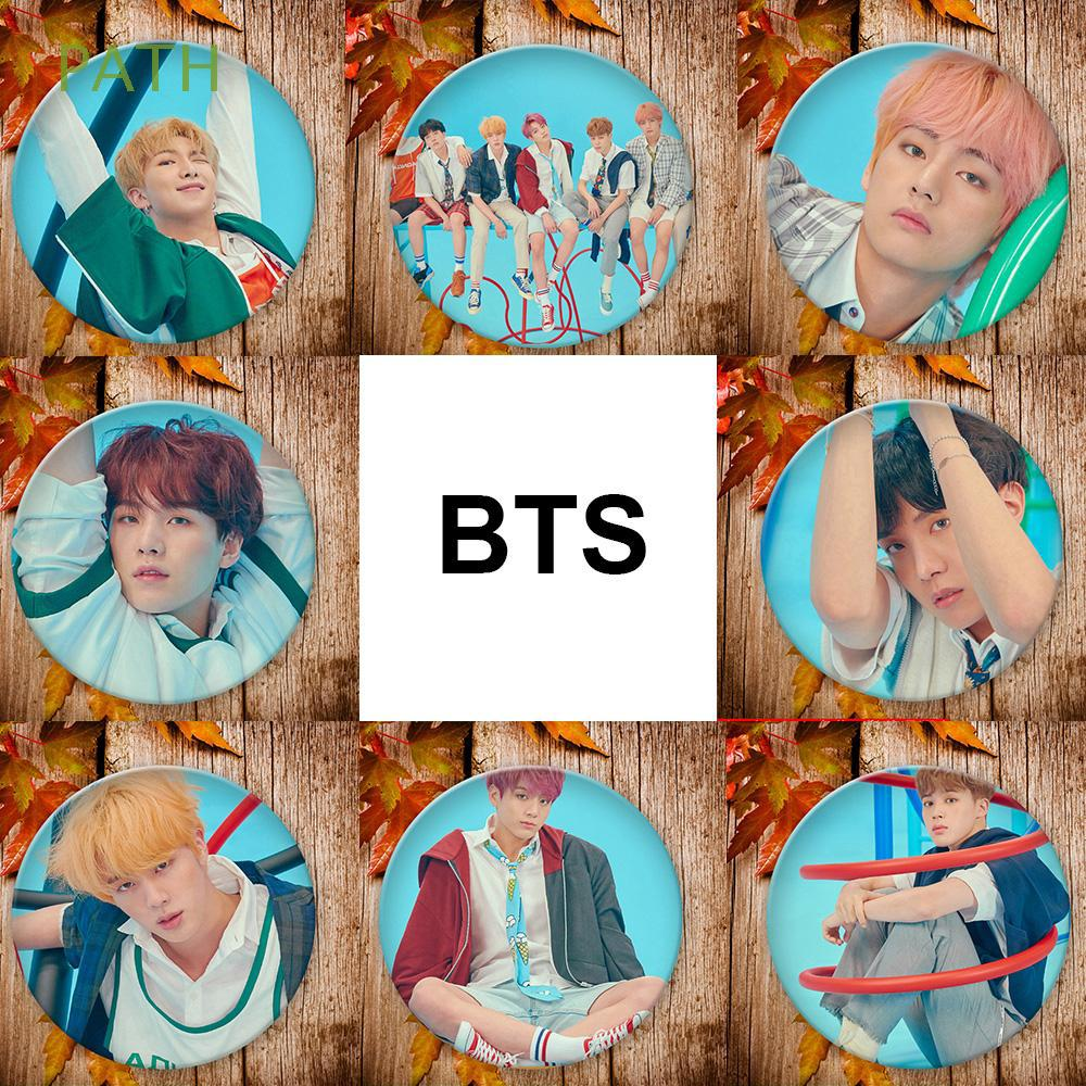 Bag Decor Army Fans Clothes hat K-pop Fashion Answer BTS Badge