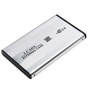 Hộp Đựng Ổ Cứng HDD BOX 2.5 inch SATA2.0 (bạc)