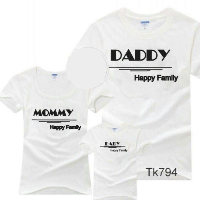 Combo 8 áo gia đình( 2 mẫu)