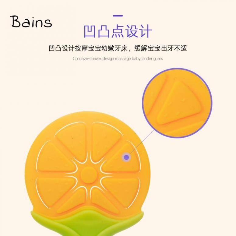 Bains Bé thực phẩm sung bổ cho ăn silicone lưới túi