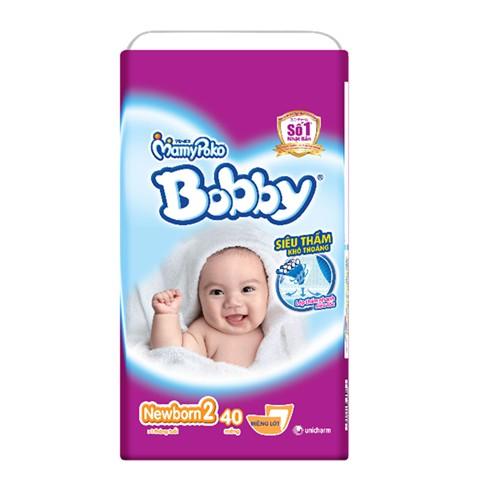 Tã bobby newborn2 40/60