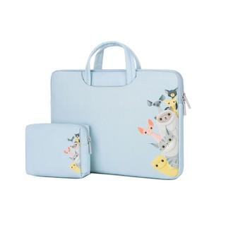 (7 Mẫu) Combo Túi Xách + Túi Đựng Phụ Kiện Macbook/Laptop Brinch