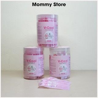Rơ lưỡi que Vcool cao cấp dùng vệ sinh răng miệng cho bé hộp 30 que