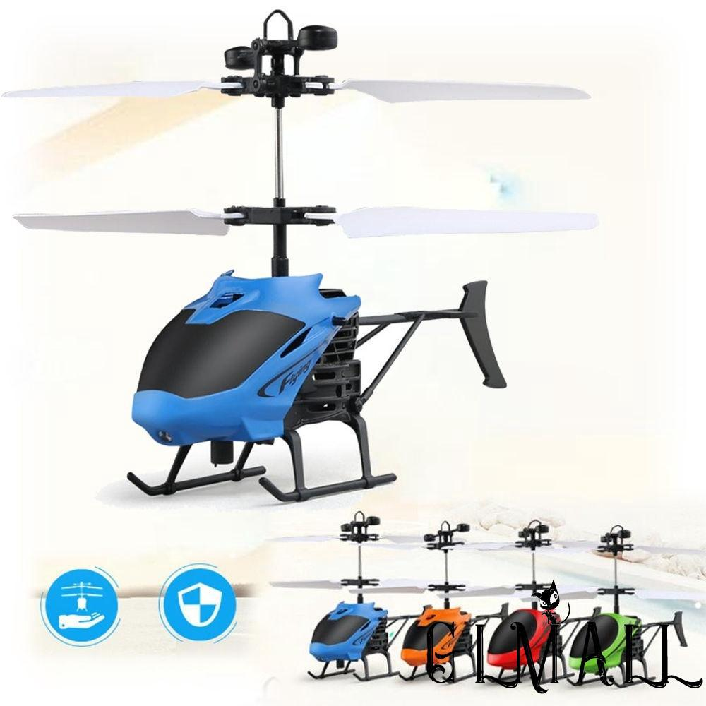 ➤GMLFlying Mini Infraed Induction Helicopter Aircraft Flashing Light Toys For