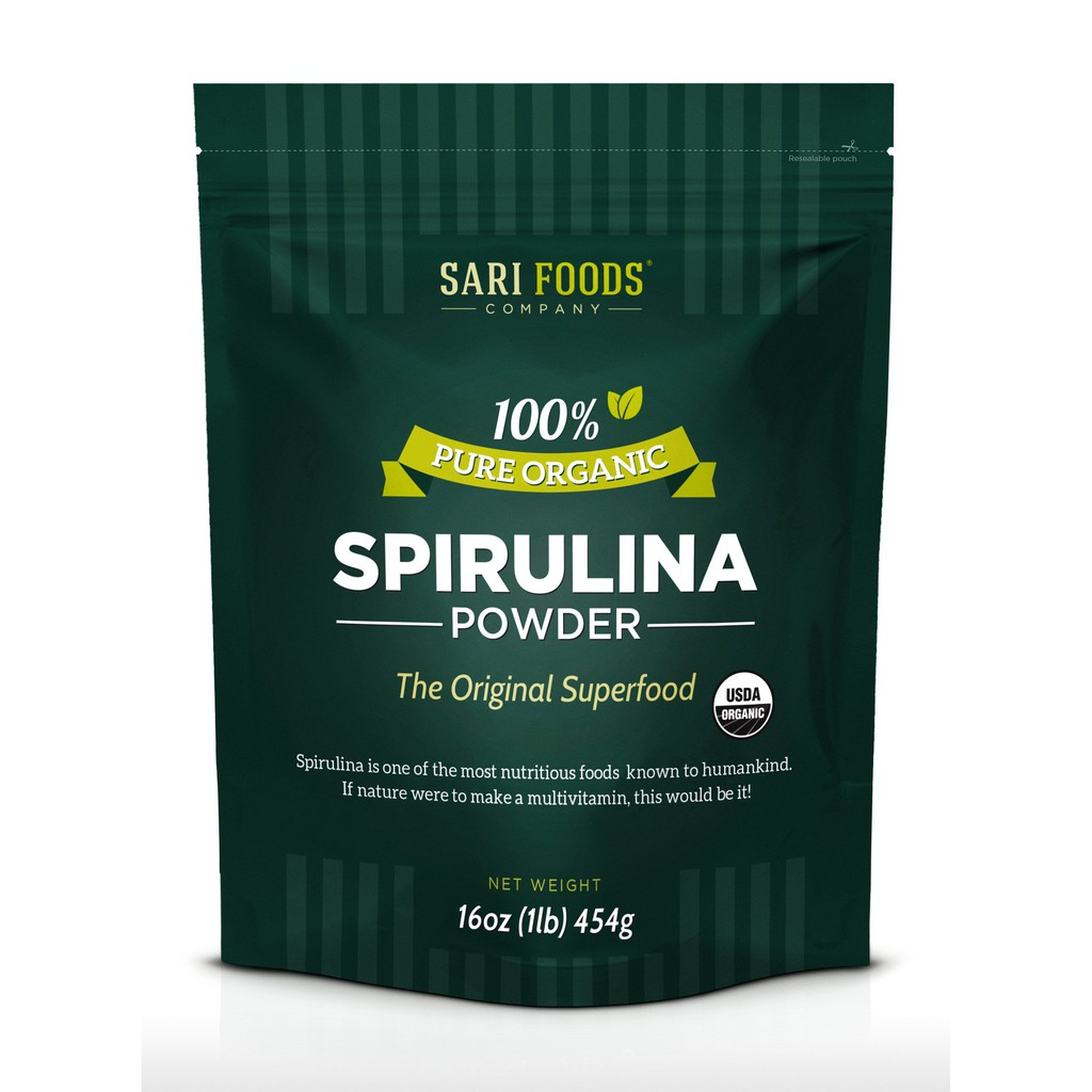 Bột tảo Spirulira hữu cơ Sari Foods - 9973091 , 444752188 , 322_444752188 , 720000 , Bot-tao-Spirulira-huu-co-Sari-Foods-322_444752188 , shopee.vn , Bột tảo Spirulira hữu cơ Sari Foods