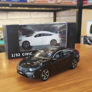 Xe mô hình trưng bày Honda Civic 2019 tỉ lệ 1:32 màu đen