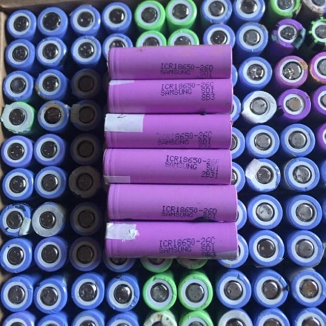 Chuyên cung cấp các loại cell pin 18650 cũ đủ loại