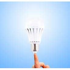 Bóng đèn tích điện - Bóng đèn tự sáng lên khi cúp điện .