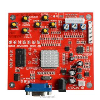 RGBS CGA To VGA High Definition Image Professional Video Replacement Parts Durable Converter Board