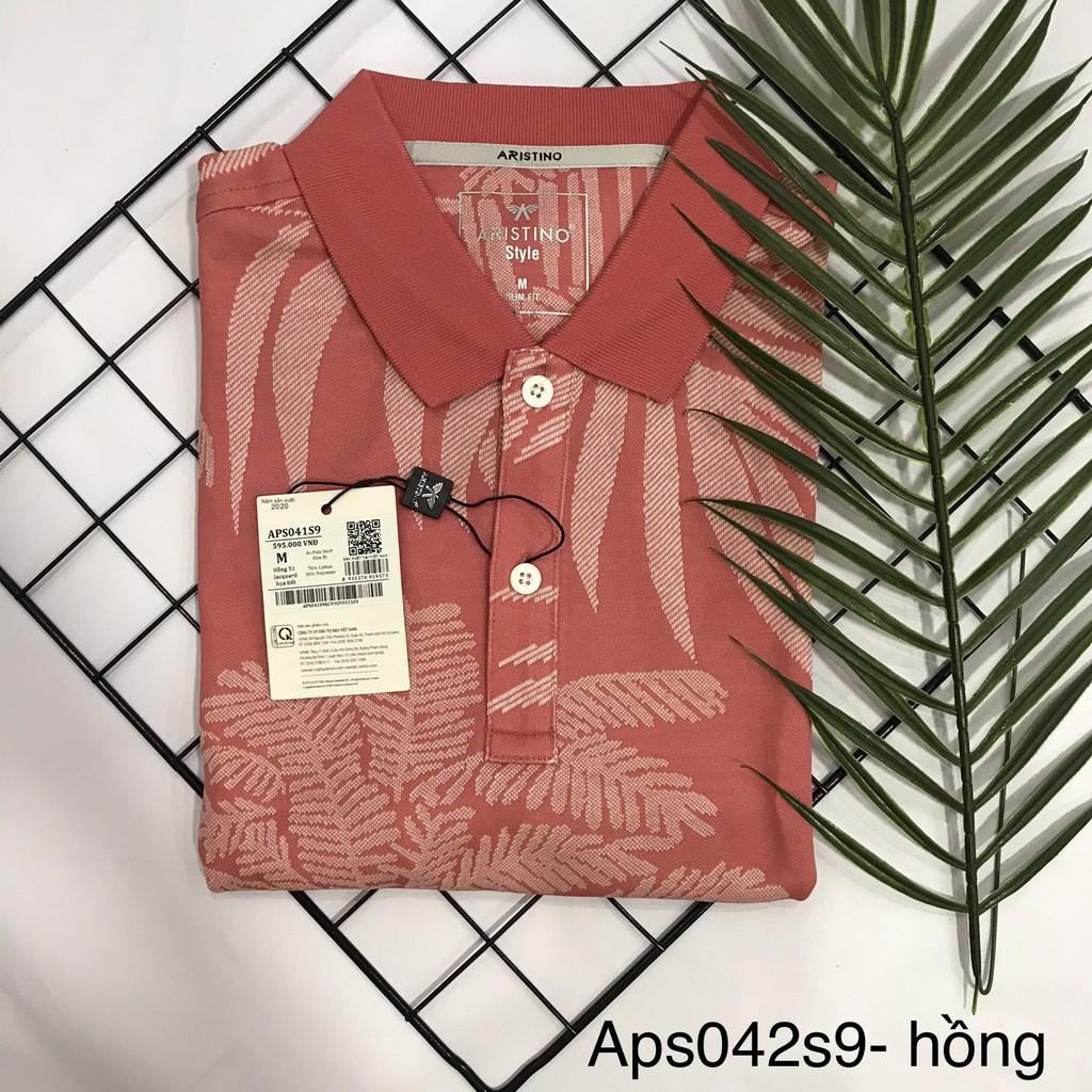 Áo polo nam áo thun nam ngắn tay cổ bẻ ARISTINO-slim - 2 màu APS073S8