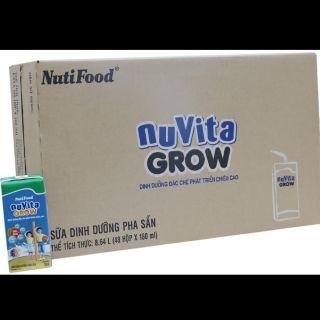 Thùng sữa Nuvita grow 110ml Nutifood(hsd T6/2021)
