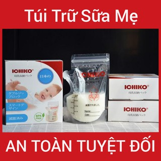 [Đã Tiệt Trùng 100%] Hộp 30 Túi Trữ Sữa Mẹ 250ml (Cam Kết Chính Hãng) thumbnail