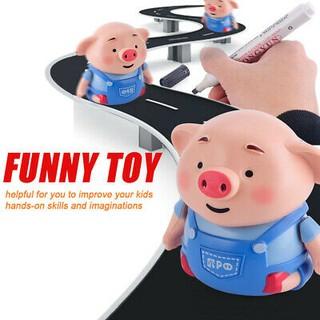 Đồ chơi chú lợn cảm ứng Cute 8.5 x 8 cm