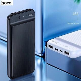 Sạc dự phòng chính hãng, Pin Sạc Dự Phòng 10000mah HOCO -J52 lựa chọn hoàn hảo đồng hành cùng chiếc smartphone