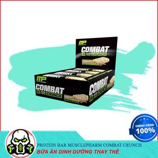 [Sale] Thay Thế Bữa Ăn Bổ Sung Đầy Đủ Dinh Dưỡng Protein Bar Musclepharm Combat Crunch ( 12 thanh ) thumbnail