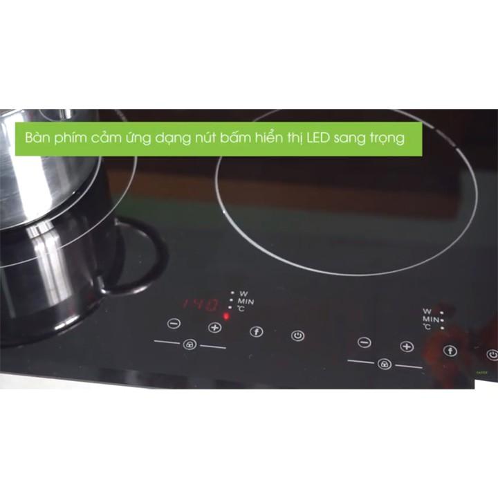 Bếp từ Faster FS 600I nhập khẩu Malaysia, bếp từ đôi, bếp điện từ, bếp từ giá rẻ