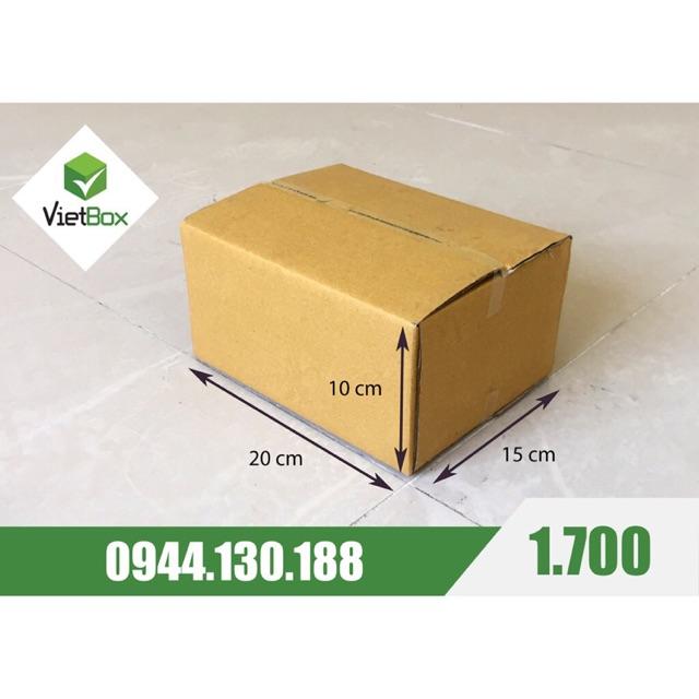 Combo 100 hộp carton 20x15x10