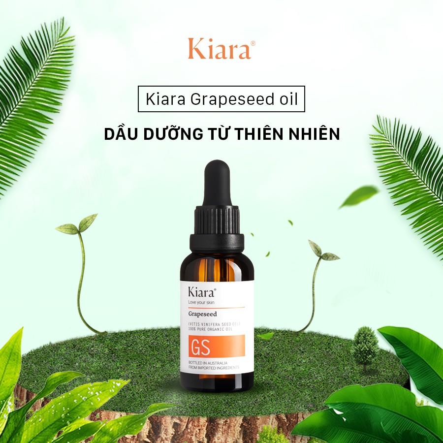 Dầu dưỡng hạt nho KIARA GRAPESEED OIL | Shopee Việt Nam