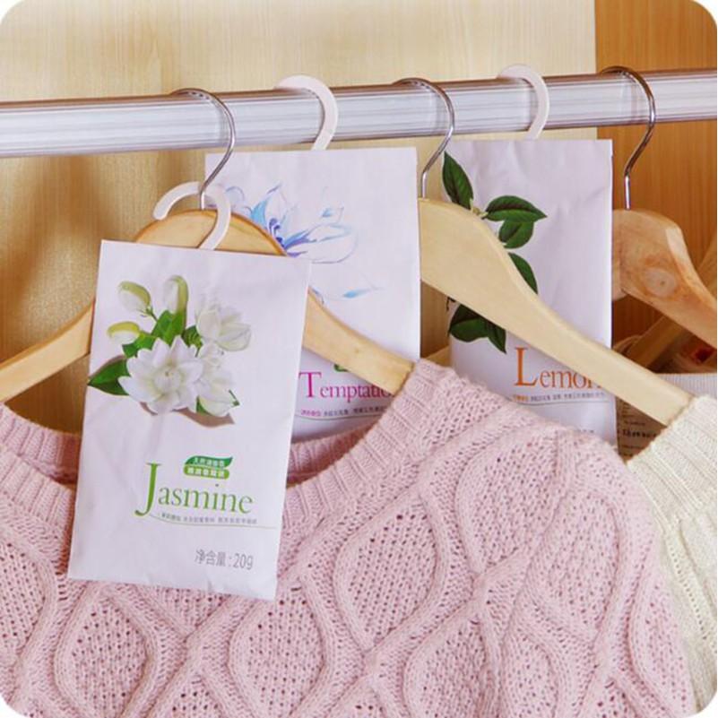 Túi thơm để tủ quần áo kèm móc treo