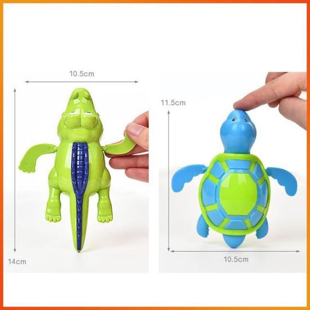 [HÀNG THẬT] - Đồ chơi sinh vật biển biết bơi (dây cót, kích thước 10 đến 15cm)