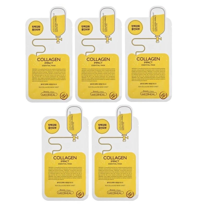 [Phân phối chính thức Mediheal VN] Bộ 5 Mặt nạ dưỡng ẩm ngăn ngừa lão hóa da Mediheal Collagen Impac - 3045328 , 213364209 , 322_213364209 , 200000 , Phan-phoi-chinh-thuc-Mediheal-VN-Bo-5-Mat-na-duong-am-ngan-ngua-lao-hoa-da-Mediheal-Collagen-Impac-322_213364209 , shopee.vn , [Phân phối chính thức Mediheal VN] Bộ 5 Mặt nạ dưỡng ẩm ngăn ngừa lão hóa da Medi