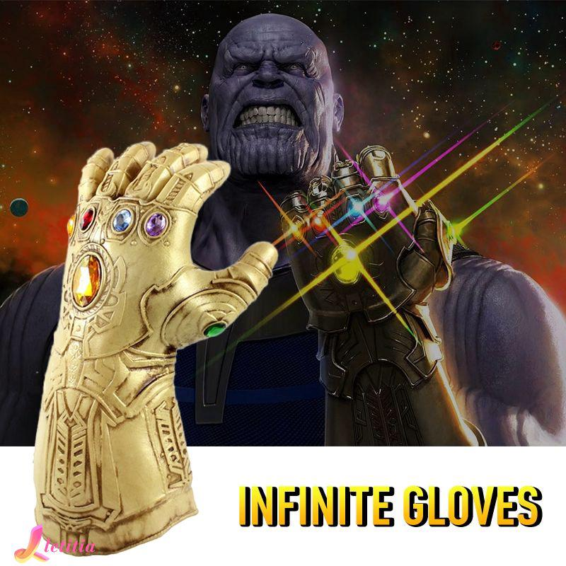 Avengers 4 Infinity War Infinity Gauntlet Thanos Gloves Cosplay Props Letitia