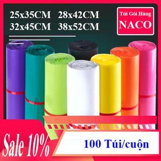 Túi Niêm Phong Sản Phẩm Chuyển Phát Nhanh – NACO – Size Nhiều Màu – C29