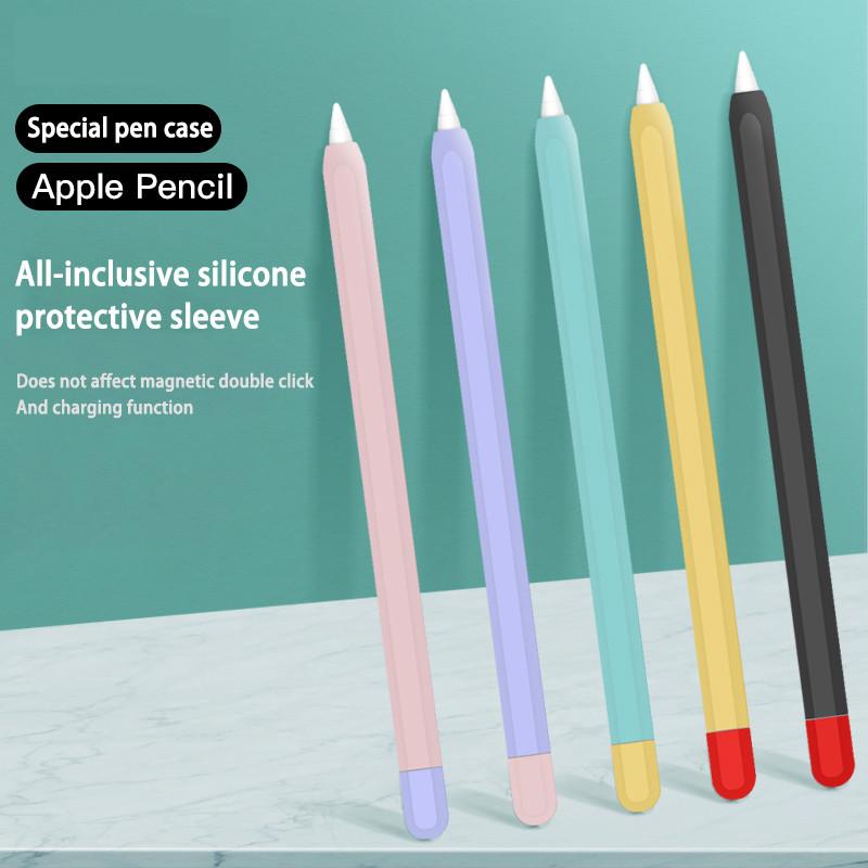Vỏ bao ốp silicon, case Apple Pencil 1 và Pencil 2 - Chống Trượt Cho  cover
