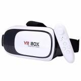 Kính thực tế ảo VR Box phiên bản 2 (Trắng) + Tặng 1 tay cầm chơi game bluetooth