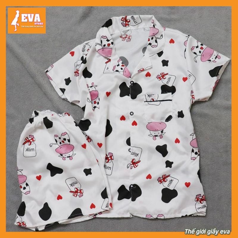 Mặc gì đẹp: Gọn tiện với [Free ship 50k] Bộ Pijama cộc đồ ngủ, đồ mặc ở nhà chất kate thái siêu đẹp không nhăn