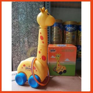 [Siêu rẻ] Bộ đồ chơi vận động hươu ném vòng cao cổ bán thanh lý